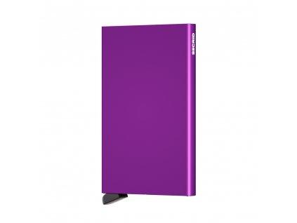 Hliníkové pouzdro na platební karty Cardprotector SECRID Violet fialové