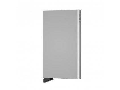 Hliníkové pouzdro na platební karty Cardprotector SECRID Silver stříbrné