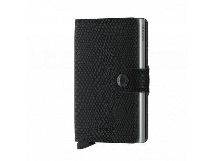Kožené pouzdro na karty SECRID Miniwallet Rango Black černá