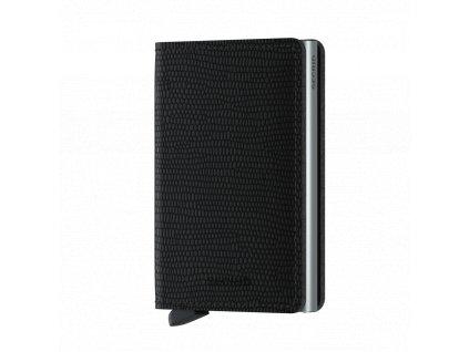Kožená peněženka SECRID Slimwallet Rango Black černá