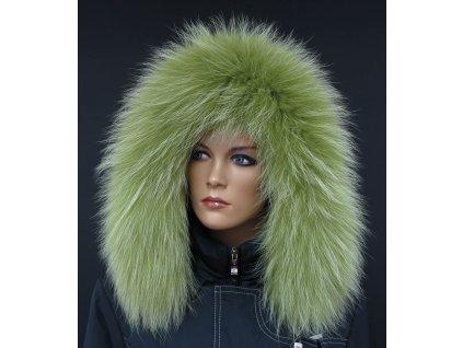 Kožešina lem / límec na kapuci z finského mývalovce 10116 LIMETA