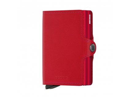 Kožená peněženka SECRID Twinwallet Original Red červená