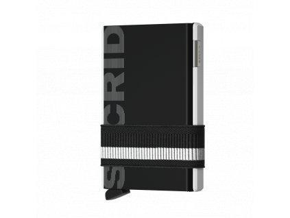 Peněženka krabička SECRID Cardslide Monochrome černá bílá