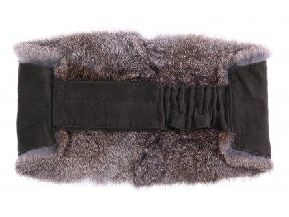 Ledvinový pás kožešinový LP181 velikost M králík