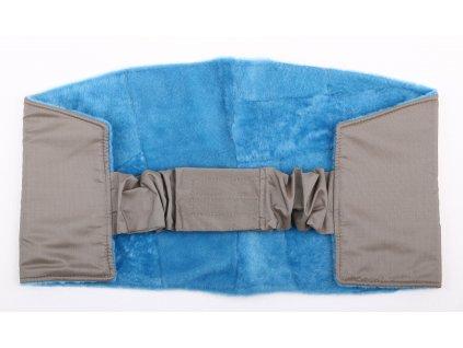 Ledvinový pás kožešinový z ovčiny velikost  80 - 100 cm LP170