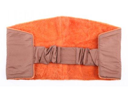 Ledvinový pás kožešinový z ovčiny velikost  80 - 100 cm LP174