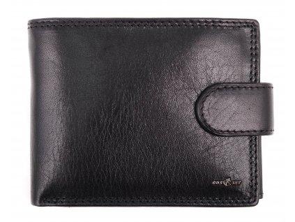 Pánská kožená peněženka Cosset 4487 Unno černá