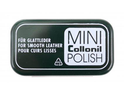Collonil Minipolish - leštící pěnová houbička napuštěná silikonem - bezbarvá
