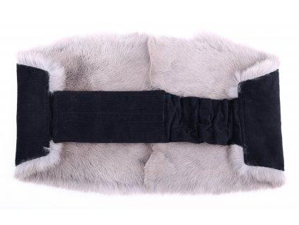 Ledvinový pás kožešinový LP92 velikost M králík