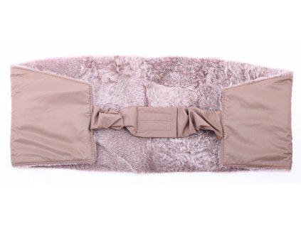 Ledvinový pás kožešinový z ovčiny velikost  120 - 140 cm LP154