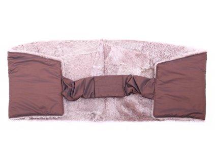 Ledvinový pás kožešinový z ovčiny velikost  120 - 140 cm LP155