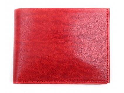 Pánská kožená peněženka Hajn 587411.5 červená