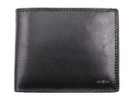 Pánská kožená peněženka Cosset 4465 Unno černá