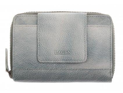 Dámská  kožená peněženka Lagen 931 Ocean Blue světle modrá
