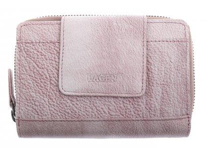 Dámská  kožená peněženka Lagen 931 Plum