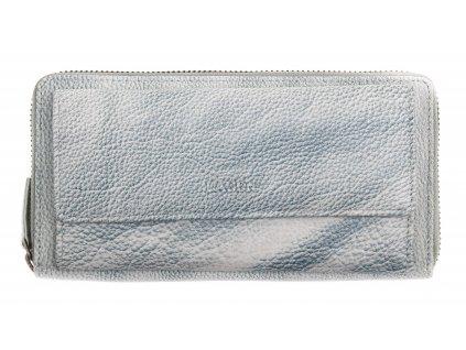 Dámská  kožená peněženka Lagen 786017 Ocean Blue