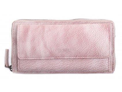 Dámská  kožená peněženka Lagen 786017 Plum