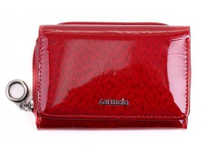 Dámská kožená peněženka Carmelo 2105 bordó