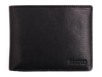 Pánská kožená peněženka Segali 7225 černá