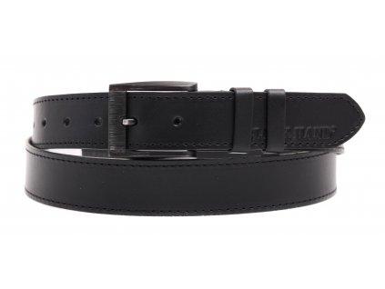 Dámský kožený opasek Black Hand 126-98 černý