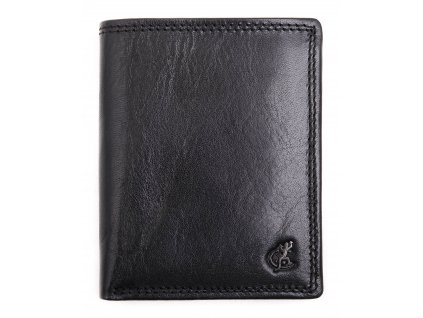 Pánská kožená peněženka Cosset 4501 Komodo černá