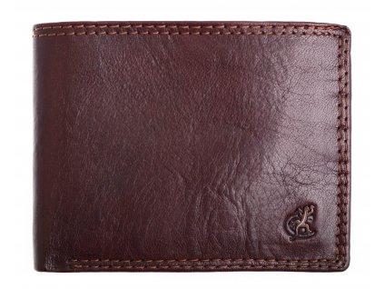 Pánská kožená peněženka Cosset 4503 Komodo hnědá