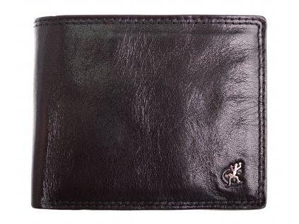 Pánská kožená peněženka Cosset 4504 Komodo černá