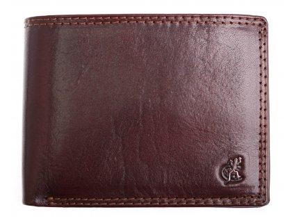 Pánská kožená peněženka Cosset 4505 Komodo hnědá