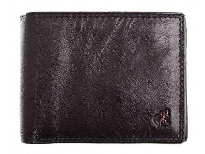 Pánská kožená peněženka Cosset 4505 Komodo černá