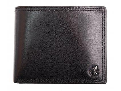 Pánská kožená peněženka Cosset 4502 Komodo černá