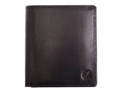 Pánská kožená peněženka Cosset 4506 Komodo černá