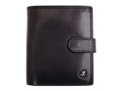 Pánská kožená peněženka Cosset 4408 Komodo černá