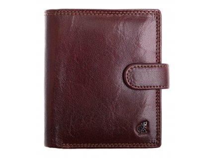 Pánská kožená peněženka Cosset 4408 Komodo hnědá