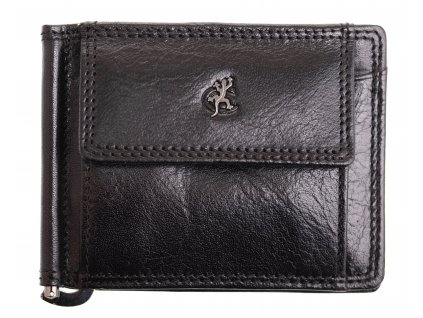 Pánská kožená peněženka dolarka Cosset 4497 Komodo černá