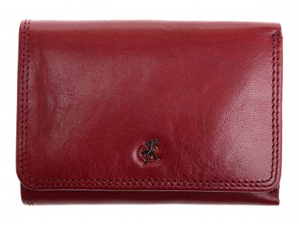 Kožená peněženka Cosset 4499 Komodo bordó