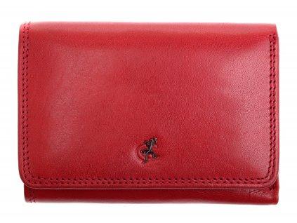 Kožená peněženka Cosset 4499 Komodo Red