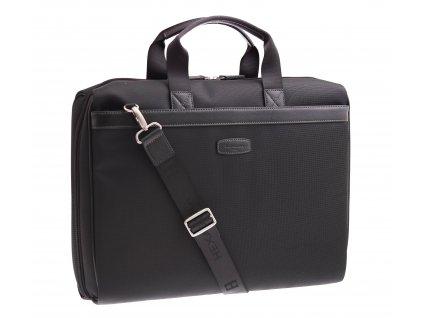 Pánská business taška Hexagona 292571 černá nylonová