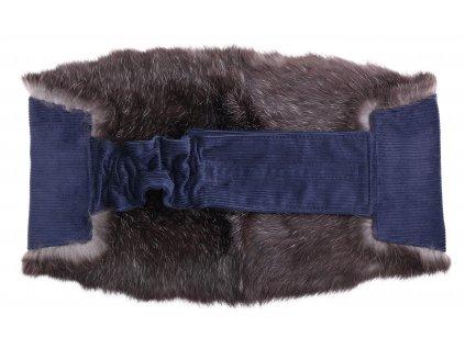 Ledvinový pás kožešinový LP206 velikost M králík