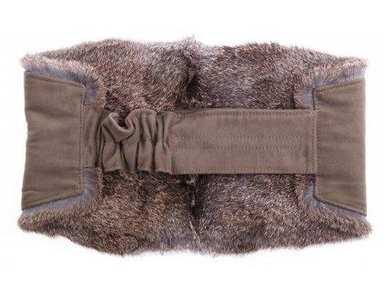 Ledvinový pás kožešinový LP208 velikost M králík