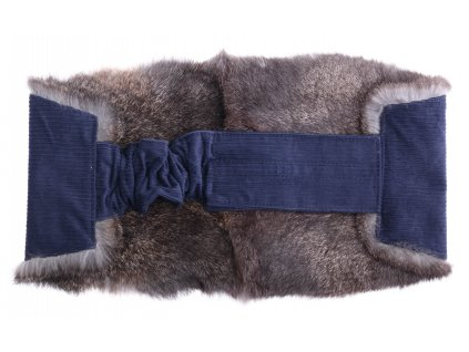 Ledvinový pás kožešinový LP211 velikost M králík