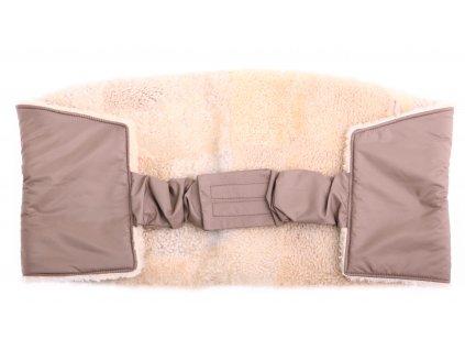 Ledvinový pás kožešinový LP214 velikost 100 - 120 cm ovčina