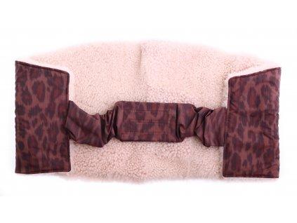 Ledvinový pás kožešinový z ovčiny velikost  80 - 100 cm LP222