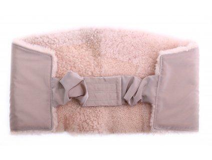 Ledvinový pás kožešinový z ovčiny velikost  80 - 100 cm LP223