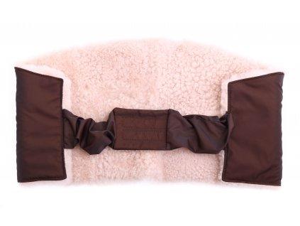 Ledvinový pás kožešinový z ovčiny velikost  80 - 100 cm LP224