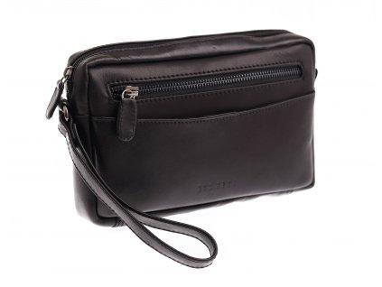 Pánská kožená Etue řidičská taška mod. 16617 černá