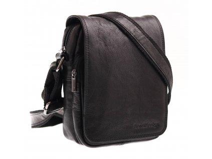 Pánská kožená taška přes rameno Sendi Design M 708 černá