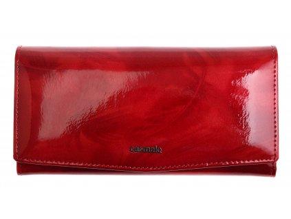 Velká dámská kožená peněženka Carmelo 2109 P Red
