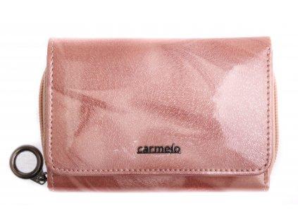 Dámská kožená peněženka Carmelo 2105 P Pink