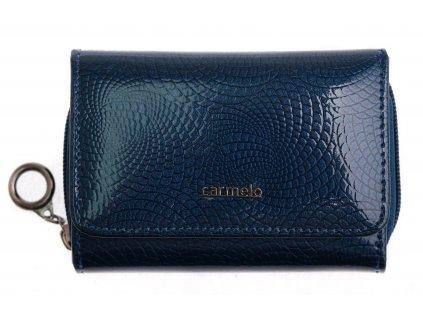 Dámská kožená peněženka Carmelo 2105 N Blue