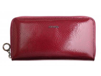 Velká dámská kožená peněženka Carmelo 2111 N Lila